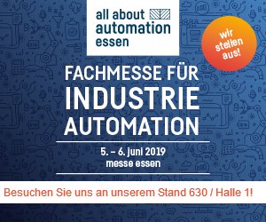 All about automation 2019 Essen